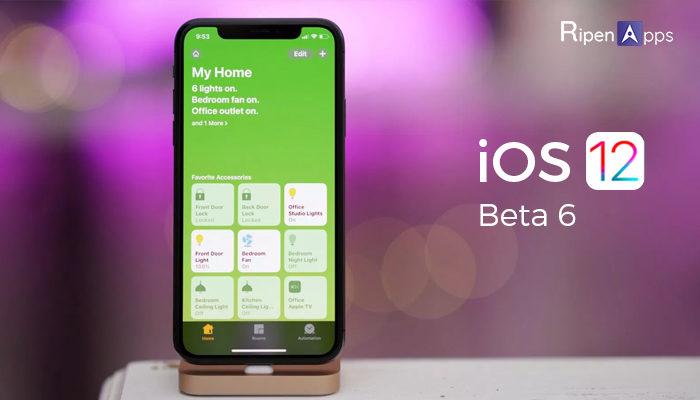 iOS 12 beta 6
